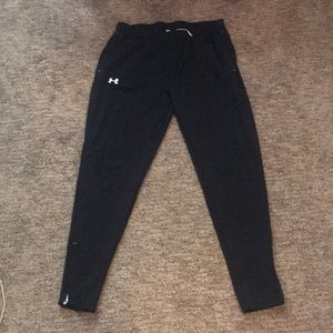 Black under armor joggers